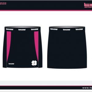 falda más short interior